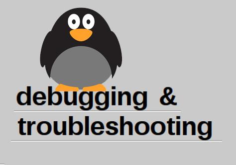debugging & troubleshooting